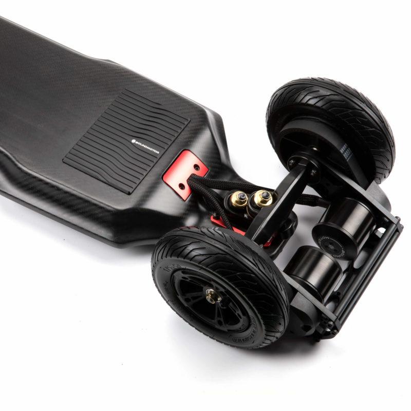 Electric belt drive skateboard - boundmotor FLASH