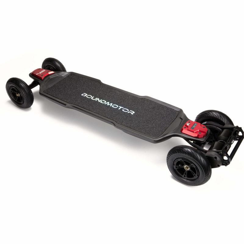 Electric belt drive skateboard - boundmotor FLASH AT - 175s