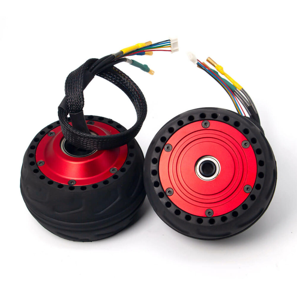 ELECTRIC SKATEBOARD HUB MOTORS-RED (3)