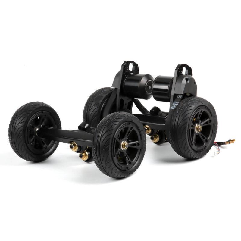 BOUNDMOTOR Belt Drive Motor Kit with 150mm pneumatic tire
