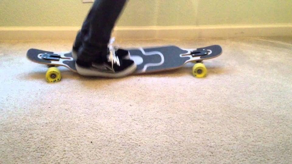 flexy longboard deck